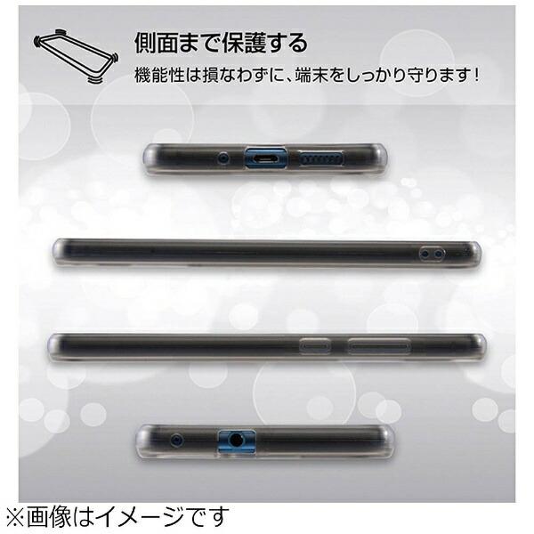 レイアウトrayoutHUAWEIP10lite用ハイブリッドケースブラックRT-HP10LCC2/B