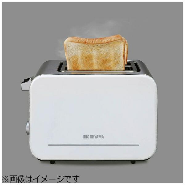 アイリスオーヤマIRISOHYAMAポップアップトースターIPT-850[2枚][IPT850W][一人暮らし単身単身赴任新生活家電]