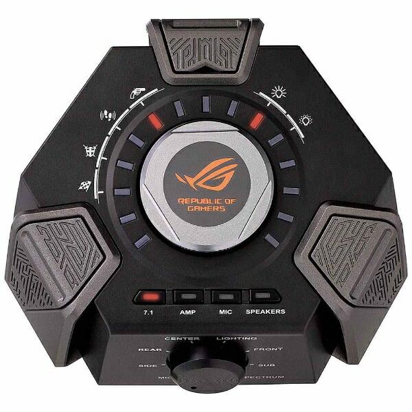 ASUSエイスースROGCenturionROG7.1有線ゲーミングヘッドセットROGCenturion[USB/両耳/ヘッドバンドタイプ][ROG71]