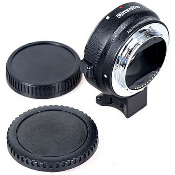 COMMLITEマウントアダプター(カメラ側:ソニーEマウント、レンズ側:キヤノンEF)CM-EF-NEXB[CMEFNEXB]