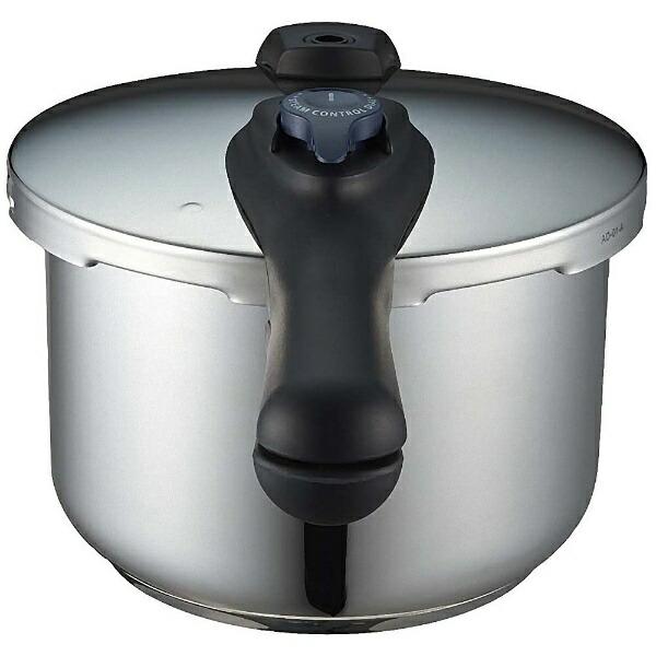 パール金属PEARLMETAL《IH対応》クイックエコ3層底切り替え式圧力鍋5.5LH5042[H50425.5L]