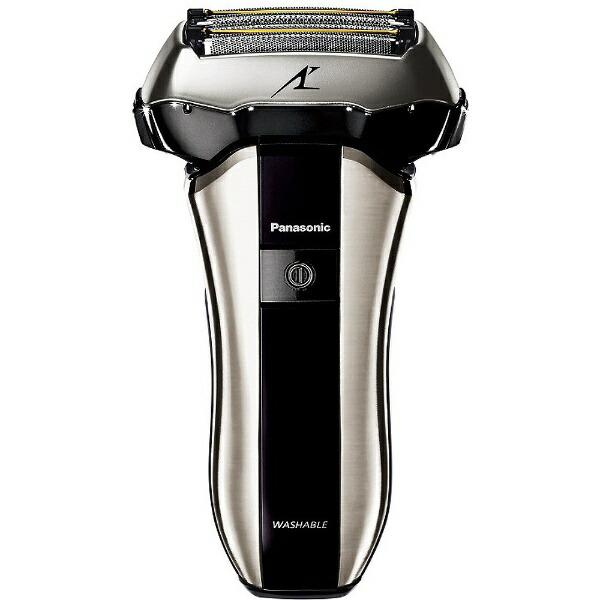 パナソニックPanasonicメンズシェーバー[国内・海外対応]LAMDASH(ラムダッシュ)シルバー調ES-CV70-S[5枚刃/AC100V-240V][電気シェーバー男性髭剃りESCV70S]