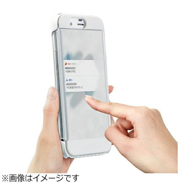 シャープSHARP【純正】AQUOSR用手帳型ケースFrostedCoverホワイトXN-K01-W