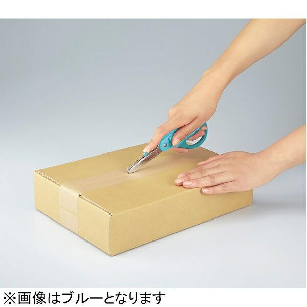 コクヨKOKUYO[はさみ]2Wayハサミ<ハコアケ>(グルーレス刃/ピンク)ハサ-P410P