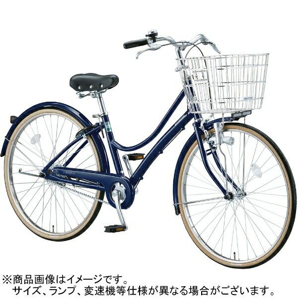 ブリヂストンBRIDGESTONE26型自転車エブリッジL(E.Xノーブルネイビー/3段変速)EB63LT【2017年/点灯虫モデル】【組立商品につき返品不可】【代金引換配送不可】