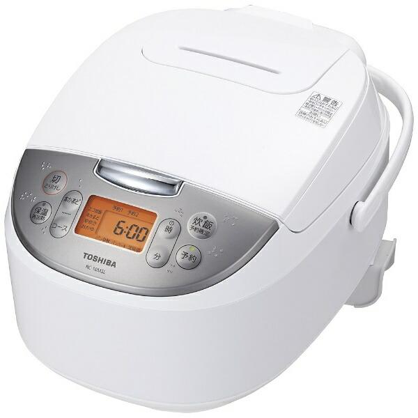 東芝TOSHIBARC-10MSL-W炊飯器ホワイト[5.5合/マイコン][RC10MSLW]