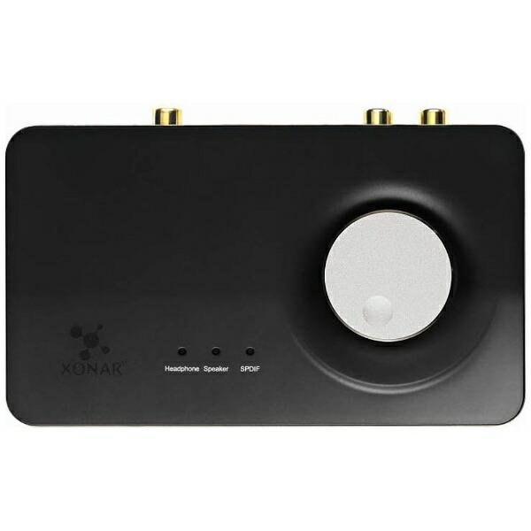 ASUSエイスースヘッドホンアンプ内蔵7.1chUSBサウンドカードXonarU7MK2