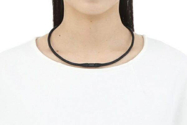 ピップpip磁気ネックレスピップマグネループEX(45cm/ブラック)