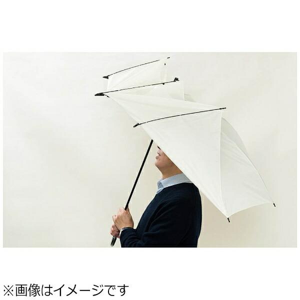 長寿乃里【傘】ポキッと折れるんです65cm(ホワイト)