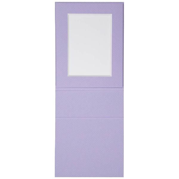 チクマChikumaNEWスタンポートL判薄紫