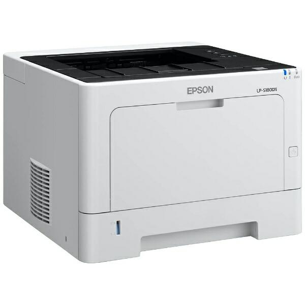 エプソンEPSONLP-S180DNモノクロレーザープリンタービジネスプリンターホワイト[はがき〜A4][LPS180DN]【プリンタ】