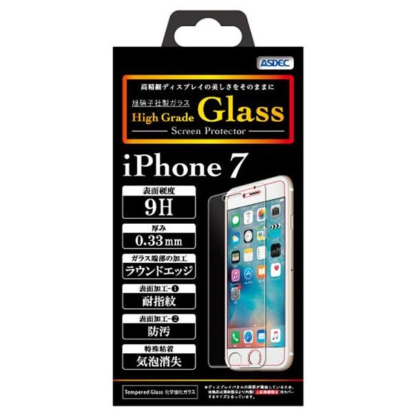 アスデックASDECiPhone7Plus用HighGradeGlassHGIPN11
