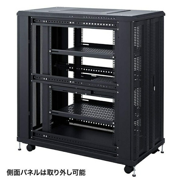 サンワサプライSANWASUPPLY観音扉19インチマウントサーバーラック(24U)CP-SVCKAN24U