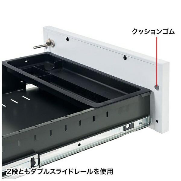サンワサプライSANWASUPPLYキャビネット(2段タイプ)SNW-105