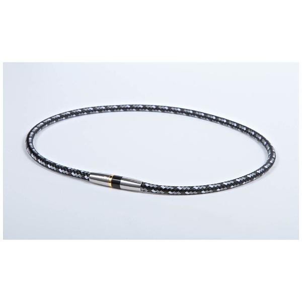 ファイテンPHITENRAKUWAネックX50ハイエンド3(ブラック/50cm)