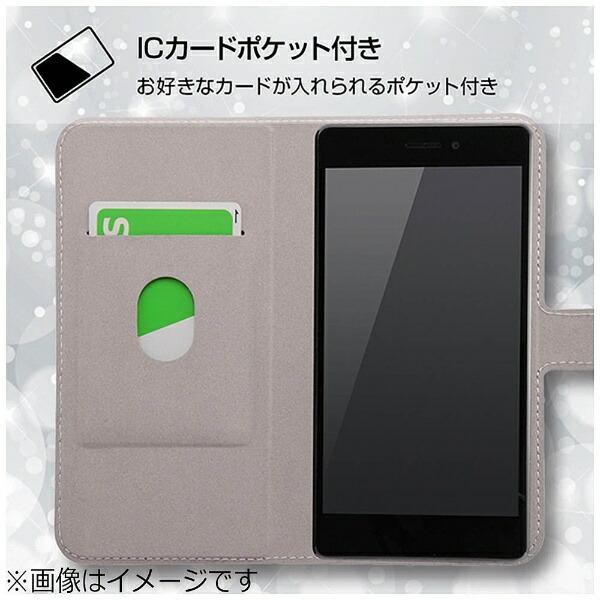 イングレムIngremRAIJIN用手帳型ケースマグネット式オリジナルデザインオレンジIJ-FRAJLC/AK094