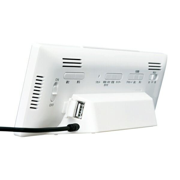 セイコーSEIKO目覚まし時計【シリーズC3】白DL305W[デジタル/電波自動受信機能有][DL305W]