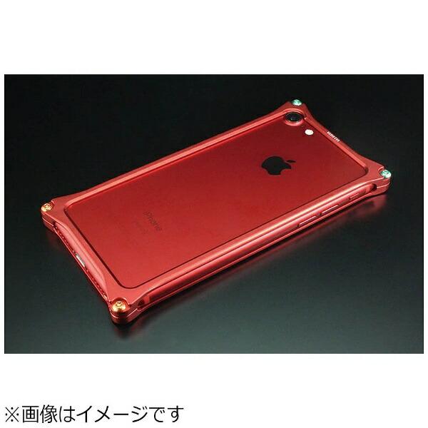 GILDdesignギルドデザインiPhone7用SolidBumper-RADIOEVALimitedMatteRED-式波・アスカ・ラングレーGIEV-272MRA