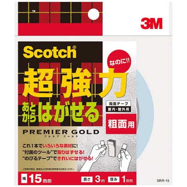 3Mジャパンスリーエムジャパンあとからはがせる超強力両面テープ粗面用15mmX3m