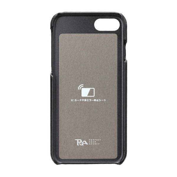 PGAiPhone7用バックポケットケースStitchグリーンPG-16MCA11GR