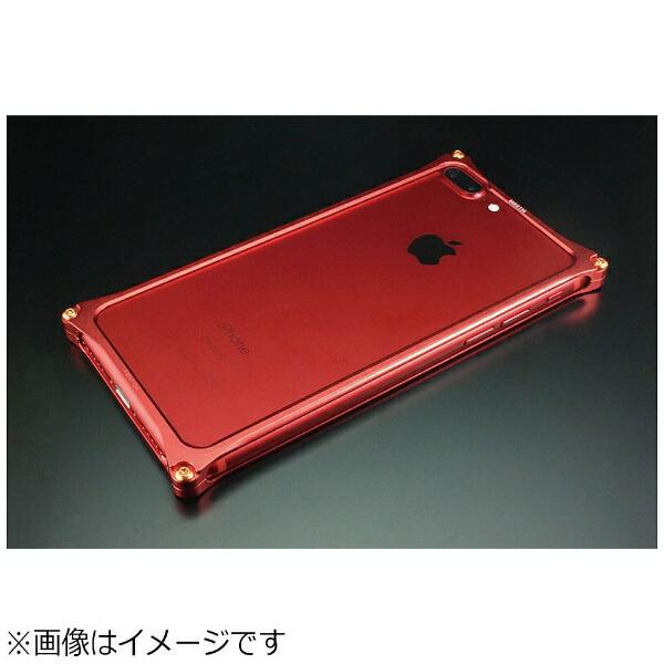 GILDdesignギルドデザインiPhone7Plus用SolidBumper-RADIOEVALimitedMatteRED-式波・アスカ・ラングレーGIEV-282MRA
