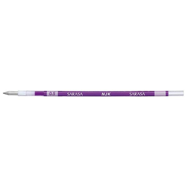 ゼブラZEBRA[ボールペン替芯]ジェルボールペン替芯紫(ボール径:0.5mm)RNJK5-PU