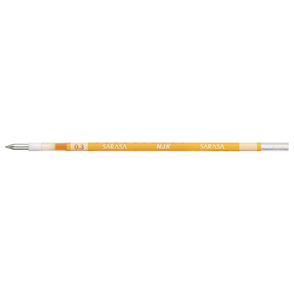 ゼブラZEBRA[ボールペン替芯]ジェルボールペン替芯黄(ボール径:0.3mm)RNJK3-Y