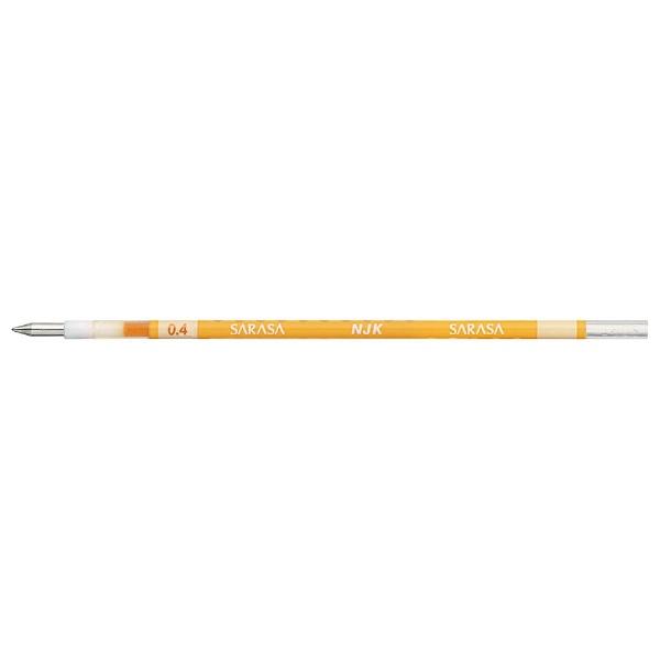 ゼブラZEBRA[ボールペン替芯]ジェルボールペン替芯黄(ボール径:0.4mm)RNJK4-Y