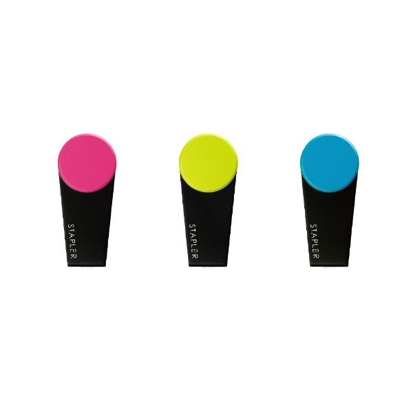 マックスMAX携帯用ミニホッチキスハンディタイプ10号カラーギミック(ライトグリーン)HD-10XS/LG
