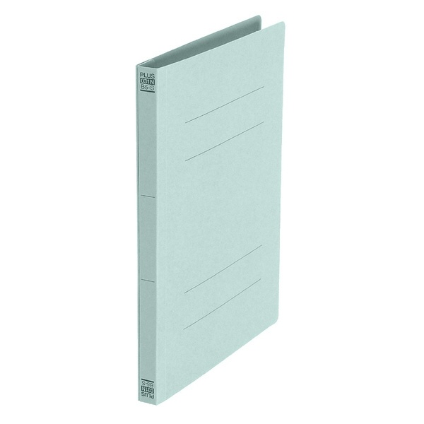プラスPLUS[ファイル]フラットファイルノンステッチB5-Sブルー3冊パックNo.033NP