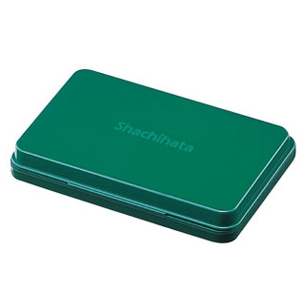 シヤチハタShachihata[スタンプ台]シャチハタスタンプ台(中形/緑)HGN-2-G[HGN2G]