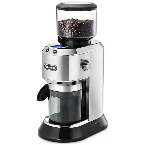 デロンギDelonghiKG521J-Mコーン式コーヒーグラインダーDEDICA(デディカ)メタルシルバー[KG521JM]