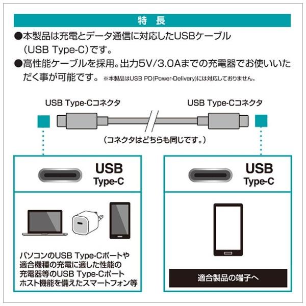 ラスタバナナRastaBanana1.2m[USB-C⇔USB-C]2.0ケーブル充電・転送ブラックRBHE270