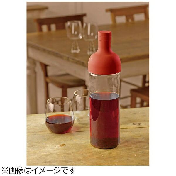 ハリオHARIOフィルターインボトル750mlレッドFIB-75-R