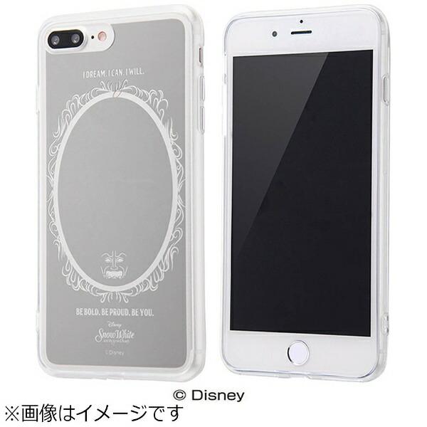 イングレムIngremiPhone7Plus用ハイブリッドケースミラーデザインディズニー白雪姫シルバーIN-DP7PUM/SW