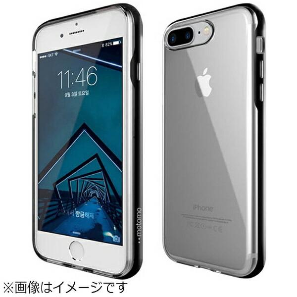 MOTOMOモトモiPhone8PlusINOAchromeShieldブラックINOASPBK