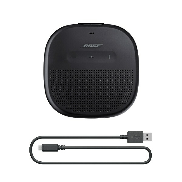 BOSEボーズSLINKMICROBLKブルートゥーススピーカーSoundLinkMicroブラック[Bluetooth対応/防水][ボーズスピーカーSLINKMICROBLK]