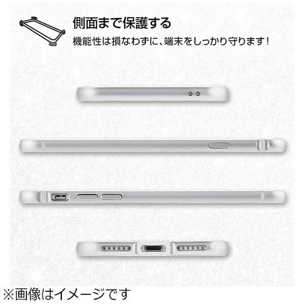 レイアウトrayoutiPhone8用アルミバンパー+背面パネルクリアブラックRT-P14AB/BM