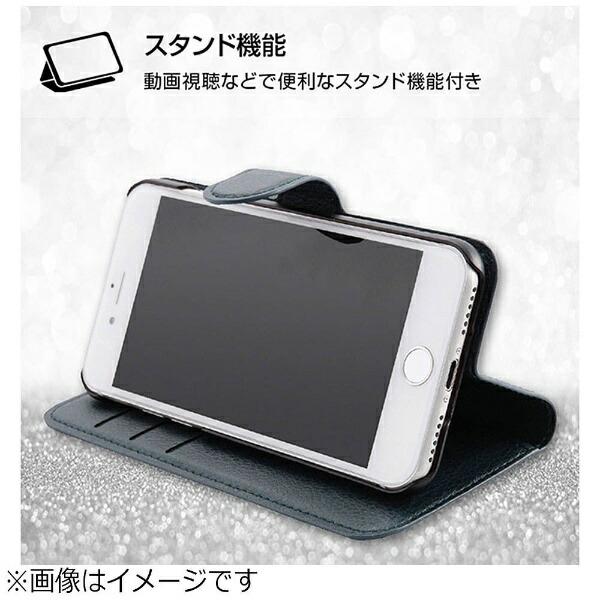 レイアウトrayoutiPhone8用手帳型ケースシンプルマグネットブラック/ピンクRT-P14ELC1/BP