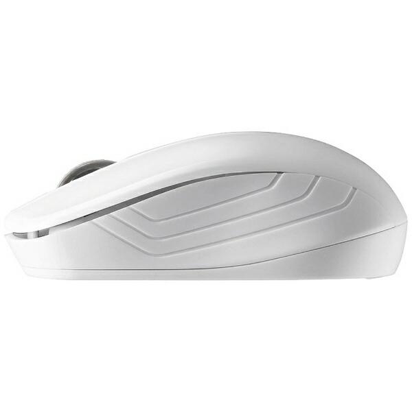 BUFFALOバッファローマウスホワイトBSMRW050WH[IRLED/無線(ワイヤレス)/3ボタン/USB][BSMRW050WH]