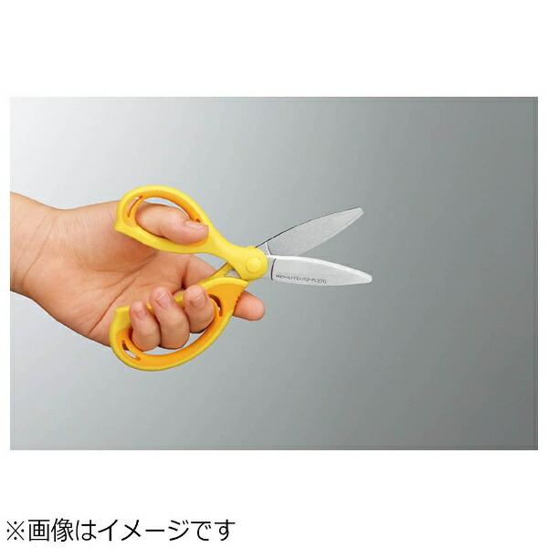 コクヨKOKUYO[はさみ]学習はさみエアロフィットサクサ・キッズ[左手用]ハサPL270Y黄