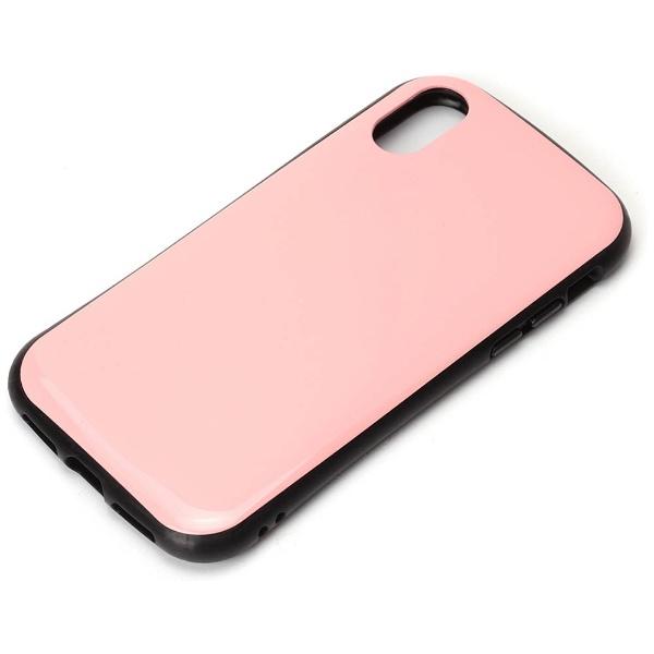 PGAiPhoneX用ハイブリッドタフケースピンクPG-17XPT07PK