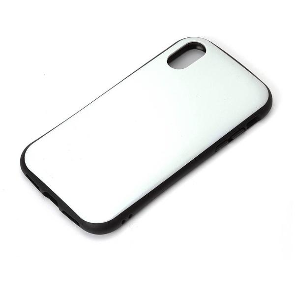 PGAiPhoneX用ハイブリッドタフケースホワイトPG-17XPT06WH