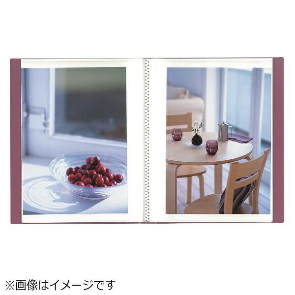 ナカバヤシNakabayashiイージーストッカー3(2L-判1段40枚収納/ピンク)アカ-E3P2L-40P[アカE3P2L40P]
