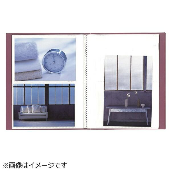 ナカバヤシNakabayashiイージーストッカー3(KG判2段80-枚収納/ピンク)アカ-E3PKG-80-P[アカE3PKG80P]