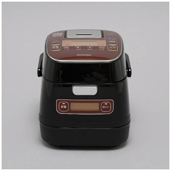 アイリスオーヤマIRISOHYAMAKRC-ID30-R炊飯器銘柄量り炊きブラック[3合/IH][KRCID30][一人暮らし単身単身赴任新生活家電]