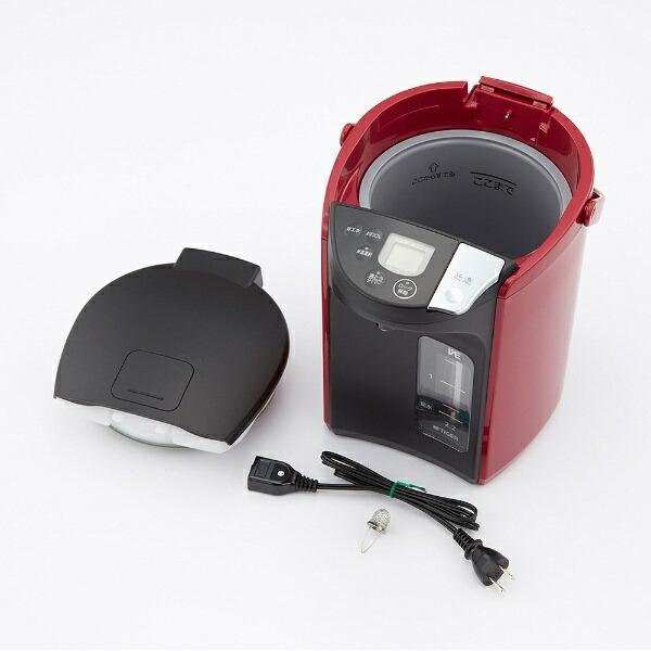タイガーTIGERPIP-A220電気ポット蒸気レスVE電気まほうびんとく子さんレッド[蒸気レス機能つき/2.2L][電気ポットタイガーとく子さんPIPA220]