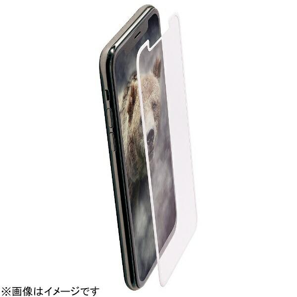 OWLTECHオウルテックiPhoneX用液晶保護ガラス耐衝撃アンチグレア全面保護0.33mmホワイトOWL-TGTIP8F-WAG