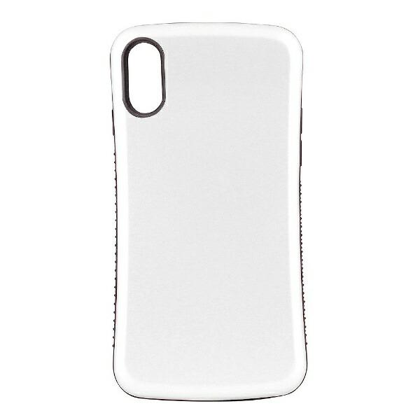OWLTECHオウルテックiPhoneX用背面ケース耐衝撃ホワイトCURRENOWL-CVIP831-WH