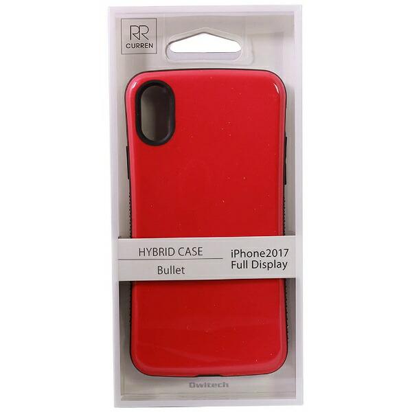 OWLTECHオウルテックiPhoneX用背面ケース耐衝撃ピンクCURRENOWL-CVIP831-PK